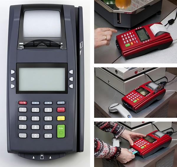 Принцип работы терминала при приеме денег в любом магазине на кассе